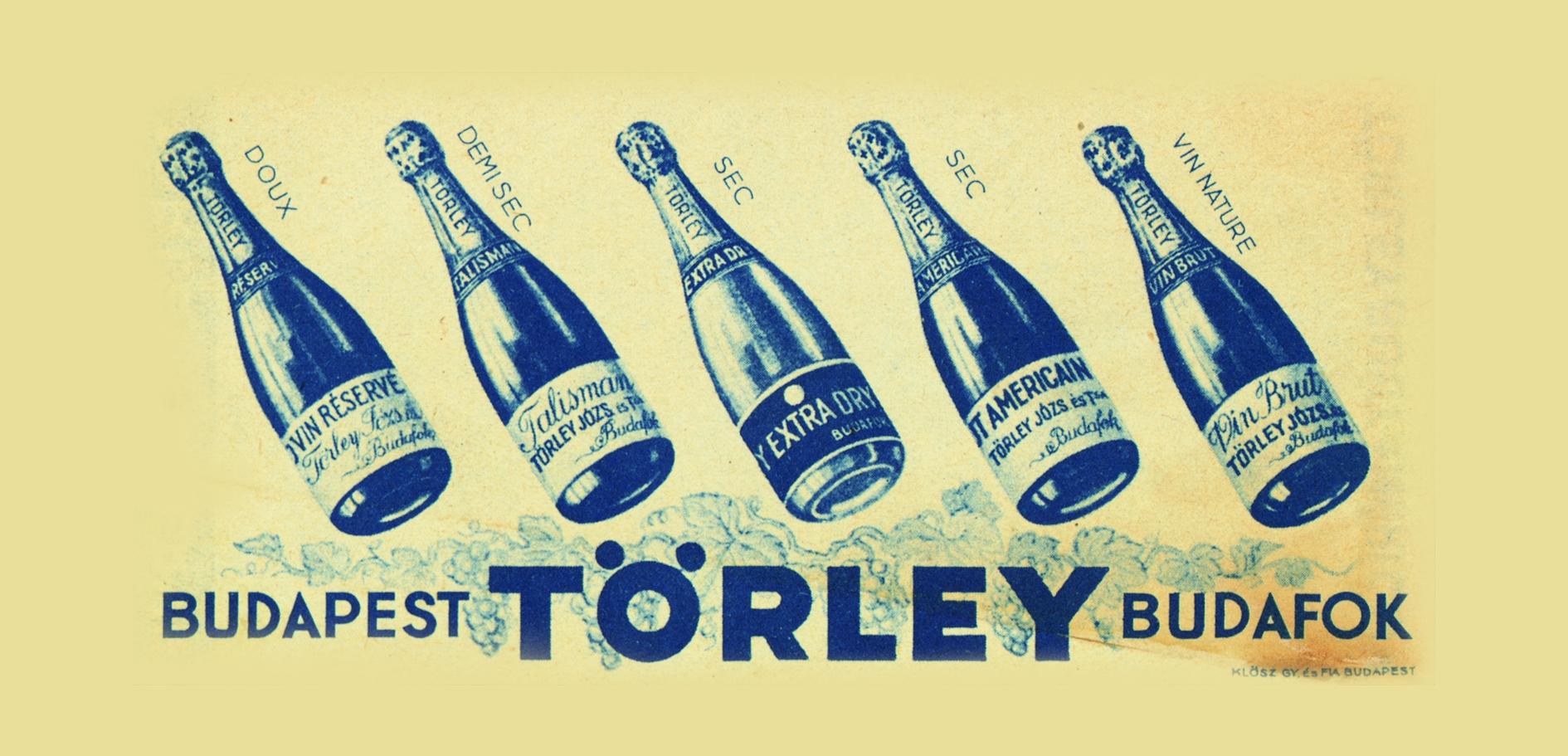 Régi Törley reklám