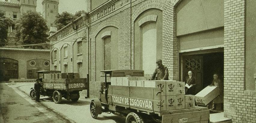 Törley pezsgőgyár régen