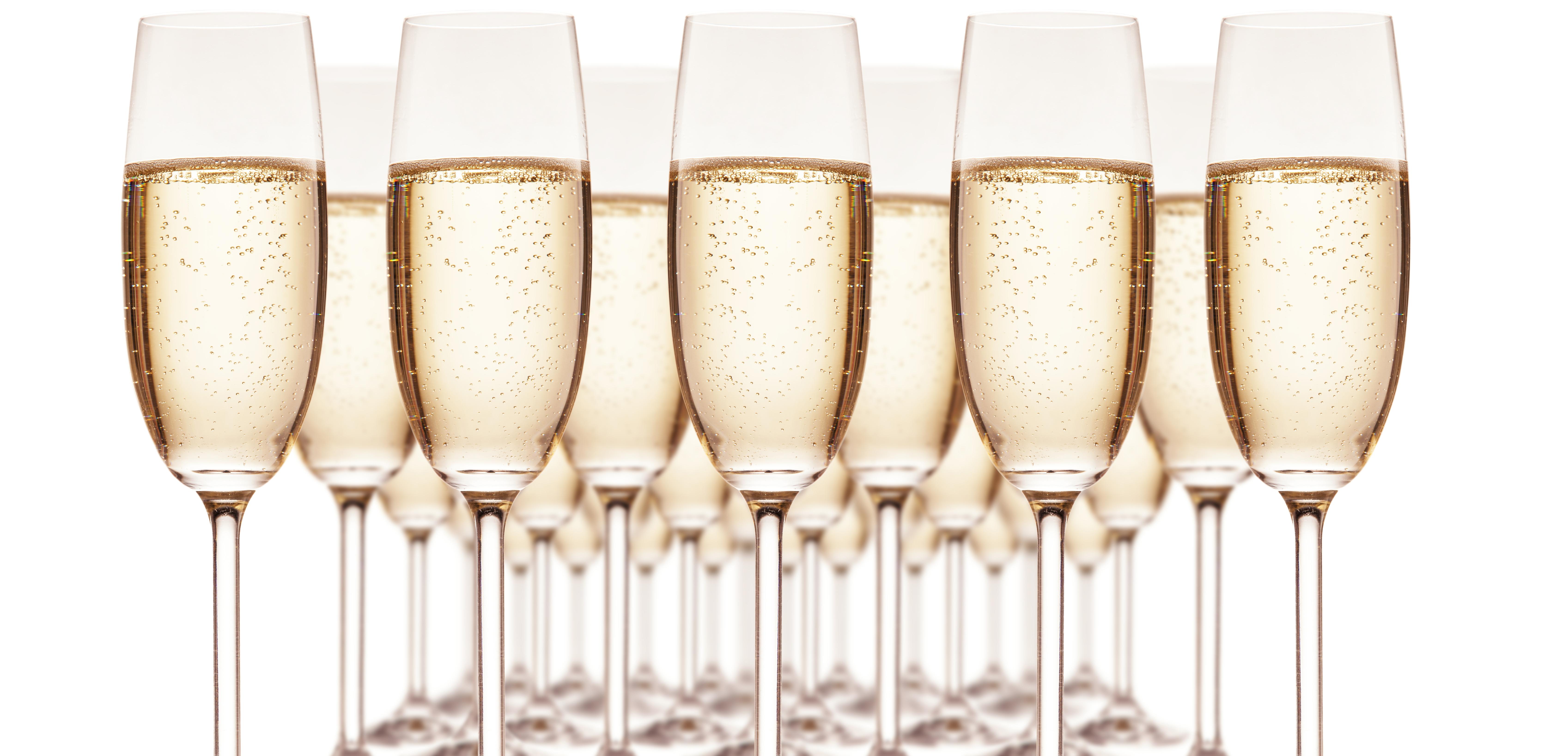 Törley pezsgős poharak